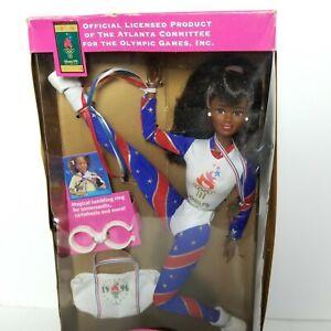 Vintage USA 1996 Olympic Gymnast African American Figure
