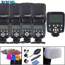 Yongnuo YN560-TX N Wireless Flash Controller + 4 Pcs YN-560IV Flash for Nikon