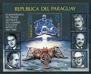 Paraguay Block 406 postfrisch / Weltraum ...................................1/34