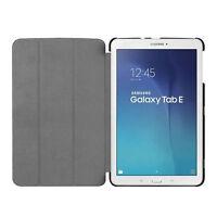 Tasche für Samsung Galaxy Tab E 9.6 SM T560 T561 Hülle Smart Cover Case Schwarz