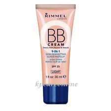Rimmel London BB Cream 9-in-1 Skin Perfecting Make up SPF 25 Light 30ml |1 fl oz