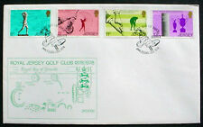1978 GREAT BRITAIN: JERSEY: CENTENARY ROYAL JERSEY GOLF CLUB: OFFICIAL FDC