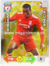 Adrenalyn XL Liverpool FC 11/12 - #070 Andre Wisdom - Special