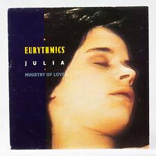 EURYTHMICS - Julia - Ministry of amour - musique disque vinyle 30.5cm