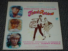 FINIAN'S RAINBOW - SOUNDTRACK - OOP 1968 WB-2550 GREEN LABEL LP NM NM