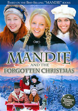 Mandie And The Forgotten Christmas  NEW DVD