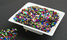 25g Small Multi Coloured Crescent Moons -Confetti / Sequins / Spangles