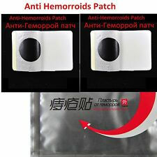 10 pcs Anti hemorrhoids patch anal fissure pain bleeding itching relief