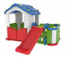 SUNSHINE CHILDRENS MODULAR PLAYHOUSE WITH SLIDE & KIDS PLAY PEN *FAST DELIVERY*