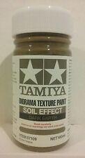 "Tamiya ""Soil effect"" Diorama texture paint 87109, Dark Earth 100ml."