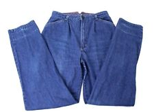 Vintage 80s Brittania Jeans High Waisted 27 x 32 Womens size 13 Tapered Leg
