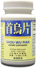 Shou Wu Pian Supplement Helps Calm The Mind & Promote Sleep Made in USA