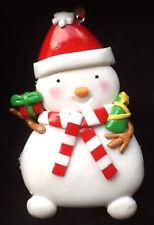 Navidad Muñeco De Nieve Decoración Sal Masa saltdough bola, árbol Adorno Regalo