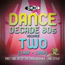 DMC DMC Dance Decade Vol.2 1987 - 1989 Hits of the Eighties Mixes DJ CD