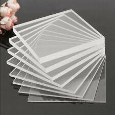 Clear Acrylic Perspex Sheet Cut To Size Plastic Plexiglass Panel DIY 1.5mm