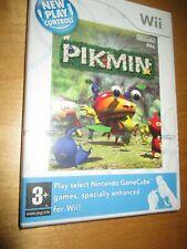 New & Sealed ** PIKMIN - New Play Control - Nintendo Wii / Wii U - UK PAL -