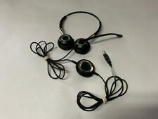 JABRA BIZ 2400 USB DUO MS WIRED HEADSET 2499-823-105 LYNC OPTIMIZED BLACK SILVER