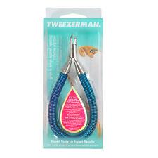 Tweezerman Grip & Snip Spiral Spring Cuticle Nipper 3198-Blue