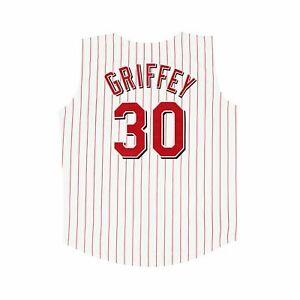 Ken Griffey Jr. 1999 Cincinnati Reds Home White Vest Jersey Men's Large