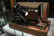SINGER VINTAGE 99k Sewing Machine SERIAL # EF223174 , July of 1949