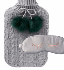 Zoella Catching ZZZ's Hot Water Bottle & Jersey Eye Mask - Christmas Lifestyle