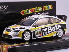 MINICHAMPS VALENTINO ROSSI 1/43 FORD FOCUS WRC BETA RALLY MONZA 2008 L.E 1008 PZ