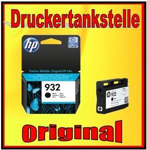 original Patrone HP 932 schwarz / schwarz HP Officejet 6100 6600 6700 7110 NEU