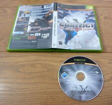 Conflict Global Storm for Xbox Original UK PAL Region 2