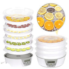 Food Dehydrator Machine Electric 6 Tier Preserver Fruit/ Meat/ Beef Dryer