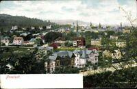 Arnstadt Ortschaft Kirche Künstlerkarte farbig Ansichtskarte Postkarte AK PK