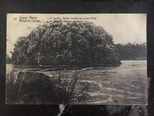 1914 Sakania Belgian Congo Real Picture Postcard Cover Rppc The Lualaba