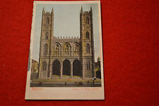 LOT OF 5 100 + year old postcard Montreal, New Hampshire, Switzerland & Missouri