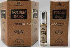 6ml GOLDEN SAND (confezione da 6) Olio Di Profumo disintossicazione al/Attar/ittar