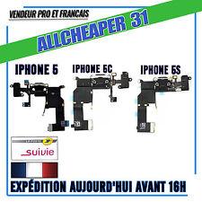 CONNECTEUR DE CHARGE ET JACK IPHONE 5 5C 5S NAPPE DOCK IPHONE  NOIR BLANC