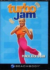 Turbo Jam: Punch, Kick & Jam (DVD, 2007)Workout Cardio  BRAND NEW Sealed