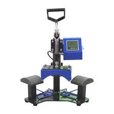 Chapeau Casquette Chaleur Presse Machine CP815S 8 x 14cm Double Station Hauteur