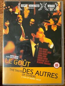 Le Gout des Autres DVD 2000 The Taste of Others French Movie Drama Classic