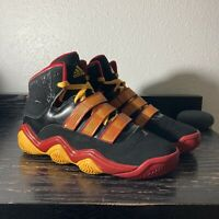 Adidas Powercrush G21107 Size 11 Black/Red/Gold Basketball Shoes