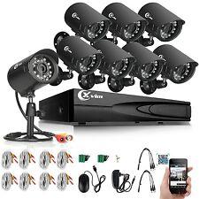 XVIM 8CH 1080P HDMI DVR Outdoor 1500TVL CCTV Surveillance Security Camera System