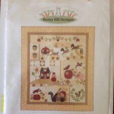 Pumpkin Hill Applique Quilt Pattern - Bunny Hill Designs NIP