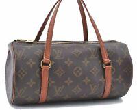 Authentic Louis Vuitton Monogram Papillon 26 Hand Bag Old Model M51366 LV A8179