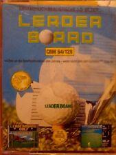 Leader Board (US GOLD, 1986) c64 cassette (tape, box) 100% OK Classic-Game