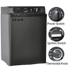Smeta 3 Way 2.2 cu ft Camper Refrigerator Rv Caravan Motorhome Van Gas Fridge