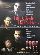 LITTLE CHARLIE & THE NIGHTCATS, SHADOW OF THE BLUES POSTER (K6)