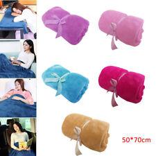 Soft Warm Solid Flange Fluffy Micro Plush Fleece Blanket Throw Rug Sofa Bedding
