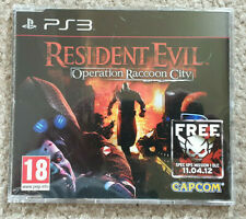Sony Playstation 3 PS3 Game Resident Evil Operation Raccoon City Promo Version