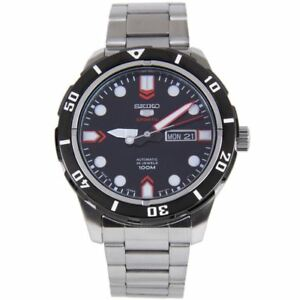 Seiko 5 Sports Automatic WR100m 24 Jewels Day Date Gents Watch SRP673J1 SRP673