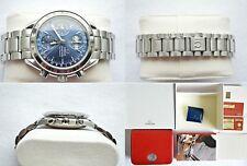Omega Speedmaster MK40 Esfera Azul Cronógrafo Día Fecha mes calendario triple