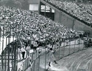 """Willie Mays - 8"""" x 10"""" Photo - 1955 MLB All Star Game- Ted Williams- Milwaukee"""
