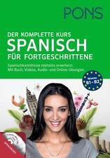 PONS Der komplette Kurs Spanisch für Fortgeschrittene (2015, Gebundene Ausgabe)